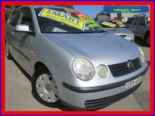 2002 Volkswagen Polo 9N SE Silver 5 Speed Manual Hatchback Canada Bay Canada Bay Area Preview