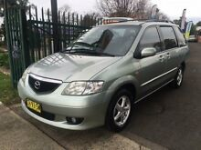 2002 Mazda MPV LW Silver 4 Speed Automatic Wagon Campbelltown Campbelltown Area Preview