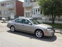 2002 NISSAN MAXIMA. AUTOMATIC. CUIR. TOIT. MAGS 17 pneue NEUF