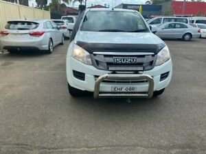2015 ISUZU D-MAX SX AUTO 4X4 MY15 4CYL 3.0 T DIESEL HEAVY DUTY STEEL TRAY TOW BAR LOG BOOKS 3 YEARS  Lansvale Liverpool Area Preview