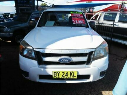 2009 Ford Ranger PJ XL White 5 Speed Automatic Cab Chassis Minchinbury Blacktown Area Preview