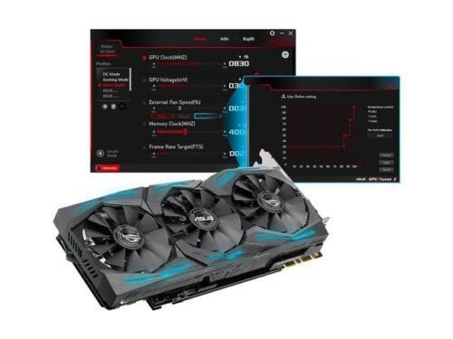 ASUS ROG GeForce GTX 1080 Ti DirectX 12 STRIX-GTX1080TI-11G-GAMING