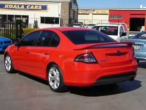 2011 Ford Falcon FG Upgrade XR6 Limited Edition Red 6 Speed Auto Seq Sportshift Sedan Strathpine Pine Rivers Area Preview