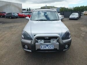 2004 Hyundai Terracan 05 Upgrade Silver 4 Speed Automatic Wagon Point Cook Wyndham Area Preview