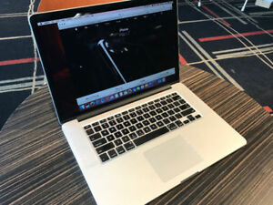 "MACBOOK PRO RETINA 15"" 3.6Ghz Turbo i7 16GB, Editing Software"