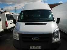 2011 Ford Transit VM MY08 Jumbo LWB High Roof (DRW) White 6 Speed Manual Van Clyde Parramatta Area Preview