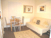 Garden flat with additional study and 2 bathrooms.