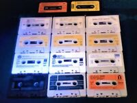 14 PRERECORDED CASSETTE TAPES FOR £5 W/ CASES NO J-CARDS ALL IN GOOD ORDER ALL CLASSICAL COMPOSERS.