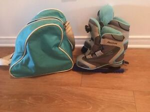 Reebok kids ice skates shoes size 5. AVAILABLE