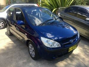 2006 Hyundai Getz TB Upgrade 1.6 SXI Blue 5 Speed Manual Hatchback Macquarie Hills Lake Macquarie Area Preview