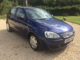 vauxhall Corsa 1.0 5 door Life.. very low miles & 1 owner from new.