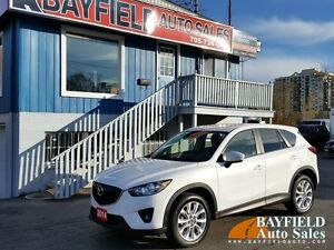 2014 Mazda CX-5 GT AWD **Navigation/Leather/Sunroof/Reverse Came