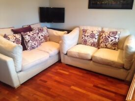 2 Double Seater Sofas - Excellent Condition