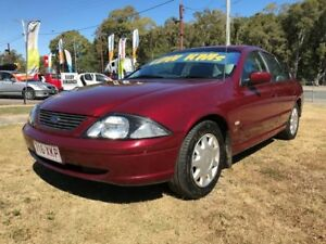 2002 Ford Falcon Auiii Forte Maroon 4 Speed Automatic Sedan Clontarf Redcliffe Area Preview