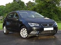 SEAT Leon 1.2 TSI SE (Tech Pack) 5dr (start/stop) (black) 2016