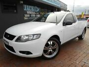 2008 Ford Falcon FG (LPG) White 4 Speed Auto Seq Sportshift Utility Croydon Burwood Area Preview