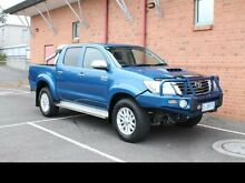 2013 Toyota Hilux 4X4 SR5 3.0L T DIESEL MANUAL DOUBLE CAB Tidal Blue Manual Dual Cab Devonport Devonport Area Preview