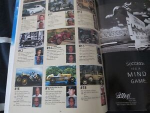 1995 Great American Race Vintage Car Rally Program Book Yearbook Cambridge Kitchener Area image 2
