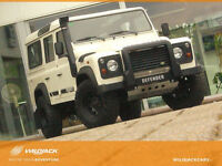 Land Rover Defender 110 DPF*1.HD*265er MT*WILDJACK-UPGRADE*