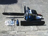 Spear & Jackson petrol chain saw . excellent condition.