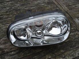 VW Golf MK4 NSF Headlight.