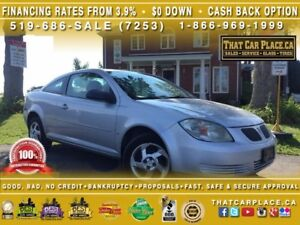 2007 Pontiac G5 Base-$69/Wk-AUX-LOW PRICE-Cruise-Fuel Efficient-