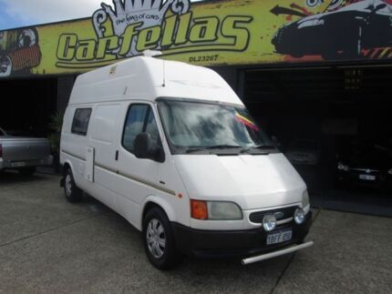 1996 Ford Transit White 5 Speed Manual Campervan O'Connor Fremantle Area Preview