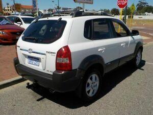 2004 Hyundai Tucson JM Elite White 4 Speed Automatic Wagon