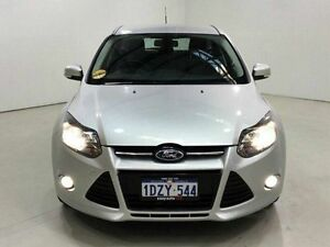 2012 Ford Focus LW Sport PwrShift Silver 6 Speed Sports Automatic Dual Clutch Hatchback Edgewater Joondalup Area Preview