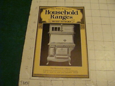 Vintage Original HOUSEHOLD RANGES white warner co. -LIBERTY i show all of item 1