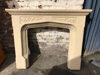 Period Stone Fireplace / Surround
