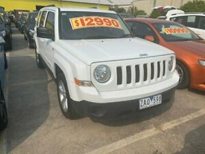 2012 Jeep Patriot MK MY2012 Sport White 5 Speed Manual Wagon Dandenong Greater Dandenong Preview
