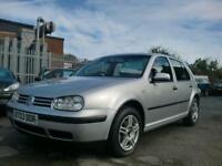 2003 03 VOLKSWAGEN GOLF 1.6 SE 5D AUTO 101 BHP
