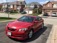 2007 Toyota Camry SE.Toyota maintained,Complete service history
