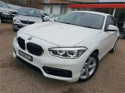 2015 BMW 118d F20 LCI Sport Line Steptronic White 8 Speed Sports Automatic Hatchback Sylvania Sutherland Area Preview