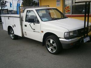 1995 Holden Rodeo 2600 DLX TRAYBACK White 5 Speed Manual Trayback Maddington Gosnells Area Preview