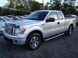 2012 Ford F-150 Supercab XLT V6 2WD Running Boards