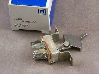 1970-72 Cutlass / 442 Blower Motor Switch- With A/C- GM Brand New # 395168