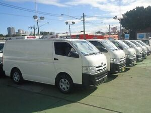 2010 Toyota Hiace KDH201R MY11 Upgrade LWB White 4 Speed Automatic Van Canada Bay Canada Bay Area Preview