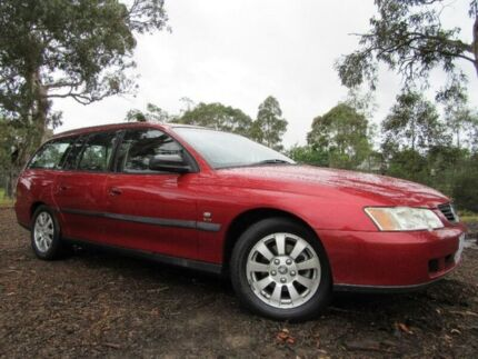 2003 Holden Commodore VY II Acclaim Red 4 Speed Automatic Wagon Doveton Casey Area Preview