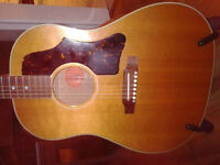 Gibson J-50 guitar acoustic electric VG condition