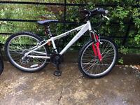Kids Mountain Bike Age 8-11 24 inch wheels Fair Used Condition