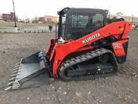 DIY snow removal Skid Steers for Rent with Free Delivery