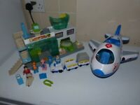 Lights & Sound Airport Playset Toys