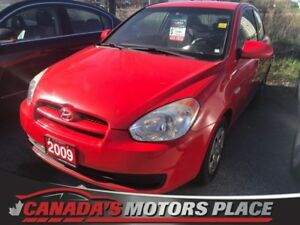 2009 Hyundai Accent Man GL Manual GL 2 sets of tires