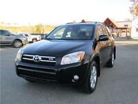 2008 Toyota RAV4 Limited V6.  Immaculate!! No Accidents!!