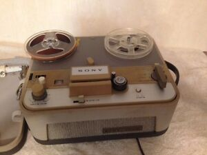 1950's Sony Reel-to-Reel Tape Recorder ~ Works Great