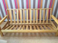 Futon 3-seater sofa bed frame