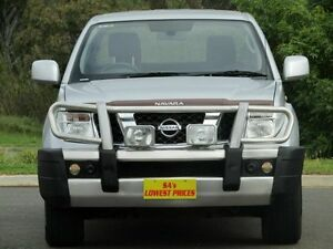 2011 Nissan Navara D40 ST Silver 5 Speed Automatic Utility Strathalbyn Alexandrina Area Preview