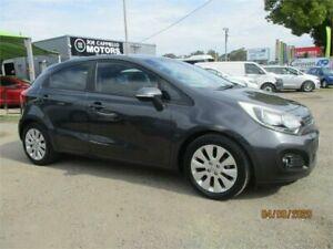 2014 Kia Rio UB MY15 SI Grey 6 Speed Automatic Hatchback Heatherbrae Port Stephens Area Preview